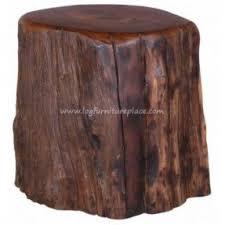 rustic tree furniture. rustic teak stump seat outdoor u0026 patio log furniture tree i