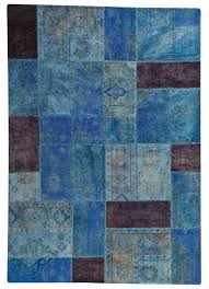 mat vintage renaissance light blue area rug cobalt ma trading gray dark navy and ivory teal