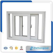 Kundenspezifisches Upvcpvc Profil Plastikfenster Doppelt