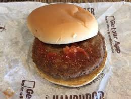 mcdonald s double hamburger review nutrition