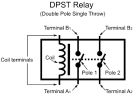 learn digilentinc relay controlled leds dpst double pole single throw relay