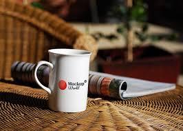 Elegant black logo preview generator. Free Coffee Mug Mockup Psd Mockup World Hq
