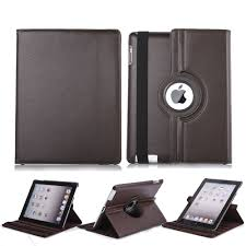 details about rotating folio leather cover smart stand case for apple ipad 2 3 4 mini air pro