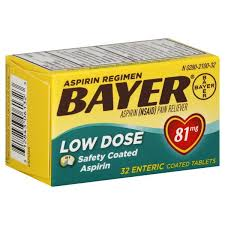 aspirin arthritis pain relief