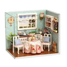 Kitchen Dollhouse Furniture Online Get Cheap Dollhouse Kitchen Furniture Aliexpresscom