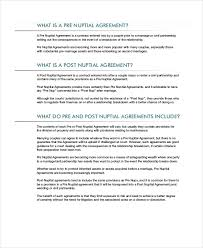 44 Best Of Prenup Marriage Agreement | Agreement Form