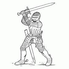 Make your world more colorful with printable coloring pages from crayola. Print A Coloring Sheet Of A Knight In Armour Fun For Kids Leuk Voor Kids