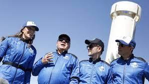 Blue Origin Rocket, William Shatner ...