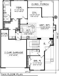 Small 2 Bedroom House Plans With Garage  Homes ZoneFloor Plans With Garage