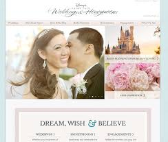 Stunning Website For Wedding Planning Disneys Fairy Tale Weddings