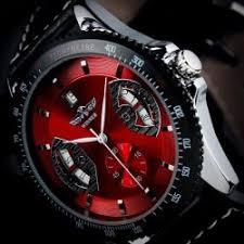 black men s watch numerals hour marks quartz analog dial best watches for men
