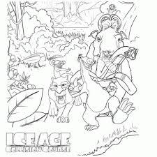 Leuk Voor Kids Ice Age Collision Course Kleurplaten