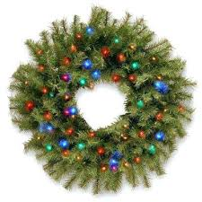 national tree company compare in fir artificial wreath with battery operated led lights christmas trees uk n national tree company wreaths74