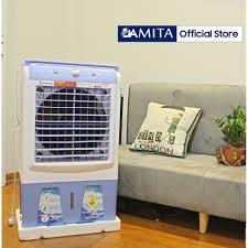 Quạt hơi nước 40L HÀN QUỐC DAMITA HS-35 Cao cấp điều hòa không khí Chính  Hãng cao cấp có video thực tế làm mát nhanh - Quạt Đứng Thương hiệu No  Brand