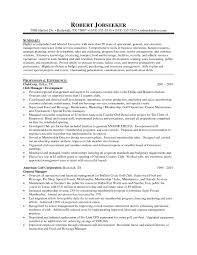 ... Sensational Ideas District Manager Resume 3 District Manager Resume ...