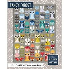 Animal Quilt Patterns Unique Fancy Forest Quilt Pattern By Elizabeth Hartman Gotham Quilts