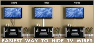 hiding tv cables cant hide wires in the wall here is the easiest way to hide hiding tv cables