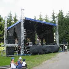 diy portable stage small stage lighting truss. TourGo Event Stage Truss System, Aluminum Truss, Small Lighting Diy Portable O