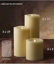 luminara outdoor candles. Luminara Large 360 Degree 6 X 10 Inch Flameless Pillar Candle Outdoor Candles E
