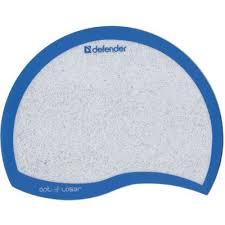 <b>Коврик</b> для мышки пластиковый белый <b>DEFENDER Ergo</b> (5780201)