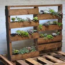 Small Picture Recycled Pallet Wood Garden Planters Pallet Furniture DIY