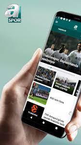 ASPOR-Canlı yayınlar, maç özetleri, spor haberleri für Android - APK  herunterladen