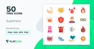 Get free icons of pow in ios, material, windows and other design styles for web, mobile, and graphic design projects. Superhero 50 Free Icons Svg Eps Psd Png Files