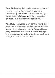 student essays chen taekwondo club taekwondo vancouver lessons picture
