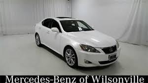 lexus is 250 2007 white. 2007 lexus is 250 for sale in wilsonville or is white