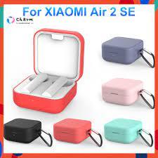 Vỏ Bảo Vệ Hộp Sạc Tai Nghe Bluetooth Xiaomi Air 2 Se Bằng Silicon Mềm Mang  Đi Tiện Dụng