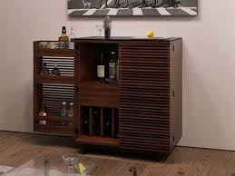 home bar furniture. BDI Corridor 36\u0027\u0027 X 18.5\u0027\u0027 Chocolate Stained Walnut Compact Bar Cabinet Home Furniture B