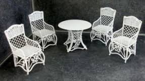 white iron garden furniture.  garden dolls house garden furniture white wrought iron patio set table 4 for