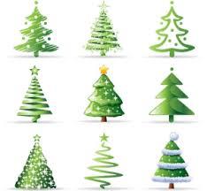 Christmas Tree Logo Vector Ai Free Download