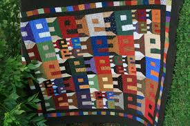 Framing With Multiple Quilt Borders & Mr.Knott's Neighborhood Quilt Adamdwight.com