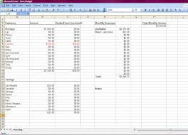 How To Make A Monthly Budget How To Make A Budget Includes Basic Monthly Spreadsheet