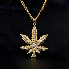 whole hiphop maple leaf pendant necklace for man bling cz rhinestone hip hop jewelry 18l gold plated ice out rapper necklaces best friend necklaces rose