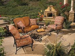 cool patio furniture ideas. stunning terrace exterior deco integrate dazzling outdoor wrought iron patio furniture cool ideas o