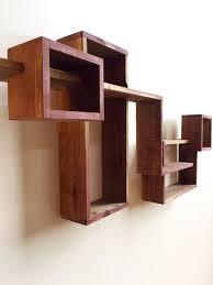 wall hanging shelves wooden shadow box
