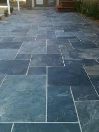 latest design for outdoor slate tile ideas 17 best ideas about slate patio on patio tiles