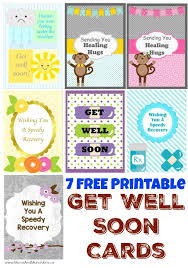 Get Well Soon Cards Printables Free Printable Get Well Soon Cards Moms Munchkins