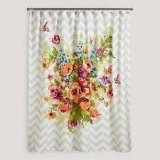 floribunda shower curtain world market going to get this for my new portland apartment