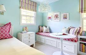 Blue girls bedrooms White Pink And Blue Girls Room With Reading Corner Bedroom Beautiful Blue Bedrooms For Girls Blackscarfco Light Blue Girls Room Girl Bedrooms Pink And Rooms For Extraordinary