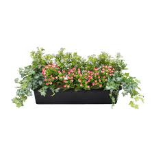Artificial Window English Country Style Artificial Window Box Blooming Artificial