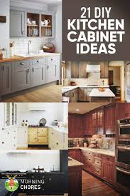 Diy Kitchen 21 Diy Kitchen Cabinets Ideas Plans That Are Easy Cheap To Build