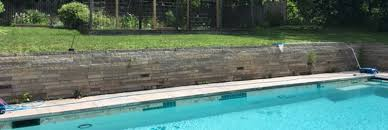 retaining wall challenges the stone trust