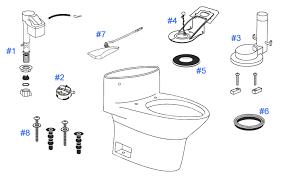 inside parts of a toilet tank. parts diagram for one piece pacifica toilets inside of a toilet tank i
