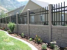 brown vinyl fence panels. Brown Granite Simtek Fence . Com Vinyl In 7 Colors Idea Lieu Of Lattice   Home Improvements Pinterest Granite, Fences And Panels