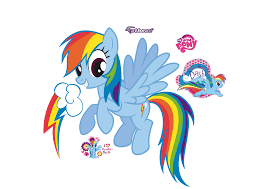 rainbow dash giant officially licensed my little pony removable wall decal fathead wall decal
