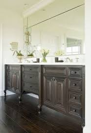 Dark bathroom vanity Wall Color Of Our New Kitchen Bath Cabinets Ove Decors Dark Bathroom Vanity Pinterest 62 Best Dark Bathroom Vanity Images Bathroom Bathroom Furniture
