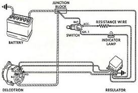 delco wire alternator installation 5000 ford mf135 wiring wiring alternator wiring diagram on to 1972 buick externally regulated alternator wiring overview diagram